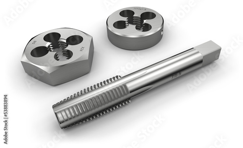 Thread cutting tools (tap and die)
