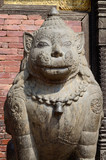 Lion Statue at Pattan Durbar Square,Kathmandu valley, Nepal