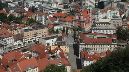 Prešeren Square, Ljubljana