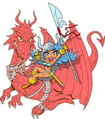 Girl Dragon Rider