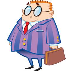 Nerdy Businessman
