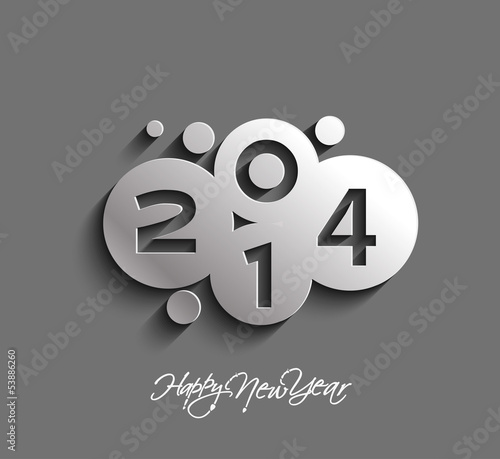 Happy new year 2013, vector