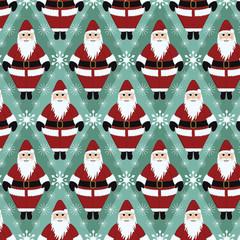 Christmas Santa Gift Wrapping Paper
