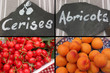 Cerises Abricots - Fruits d'été