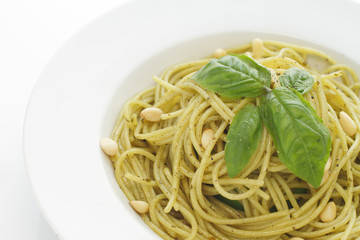 Pasta with Pesto Genovese