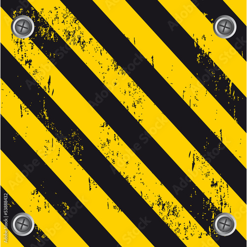 caution wall