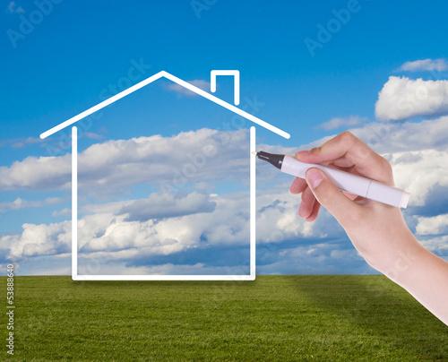 Konzept Haus
