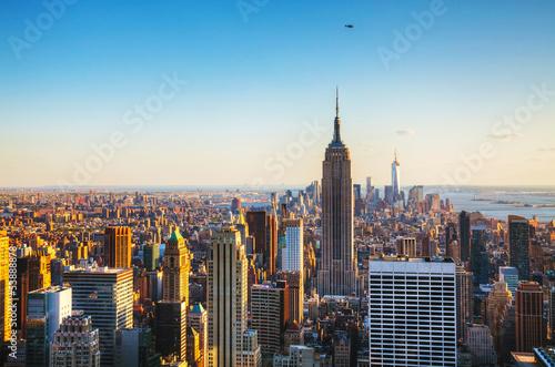 Foto op Canvas New York New York City cityscape