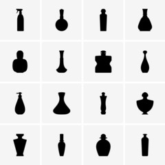 Perfume bottle icons