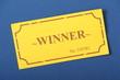 The Winner Golden Ticket