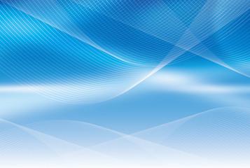 青い空間の背景