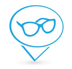opticien sur signet bleu