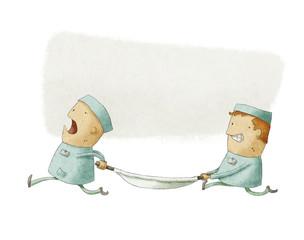 Illustration of Paramedics at Work