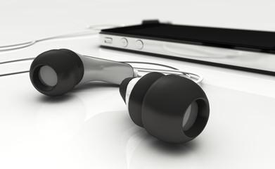 Kopfhörer, Ohrstöpsel, Musik