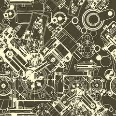 seamless pattern drawing engine