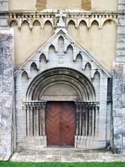 Gate of Cathedral in Spisska Kapitula