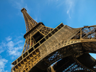 Eiffel tower in detail