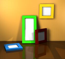 Rahmen Zimmer B