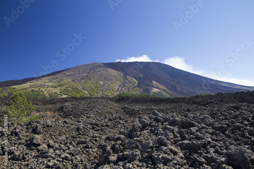 Etna west side