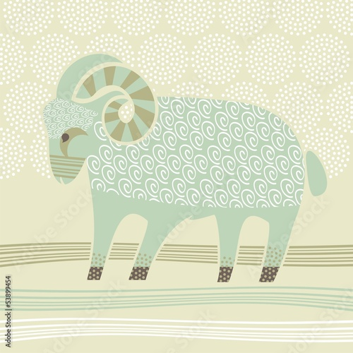 Decorative Ram