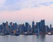 Fototapeten,new york city,manhattan,sonnenuntergang,panorama