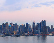 Fototapeten,new york city,manhattan,sonnenuntergänge,panorama