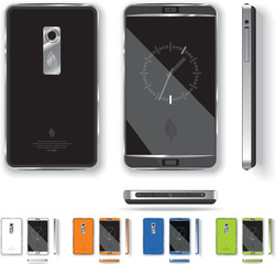 Smart Phone Design - Vector