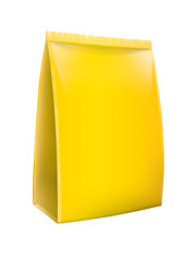Snack package yellow