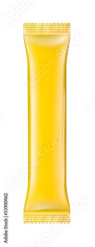 Stick packaging yellow color