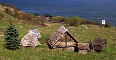 Ancient Celtic buildings