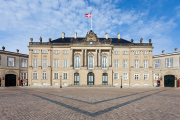 Kopenhagen - Amalienborg - Copenhagen