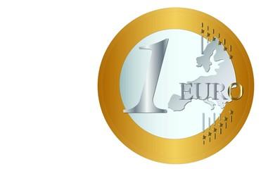 Euro 1 Euro Münze