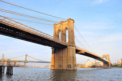 New York City Manhattan Brooklyn Bridge - 53903296