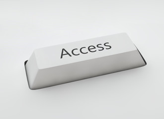 "Keyboard button with the word ""Access"""