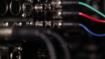 Focus pulling from rgb video cables to audio xlr cables