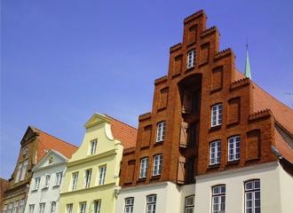 Alte schöne Häuser Lübeck