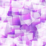 Abstract square seamless purple background