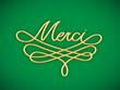 "Carte ""MERCI"" (remerciements message gratitude plaisir joie)"