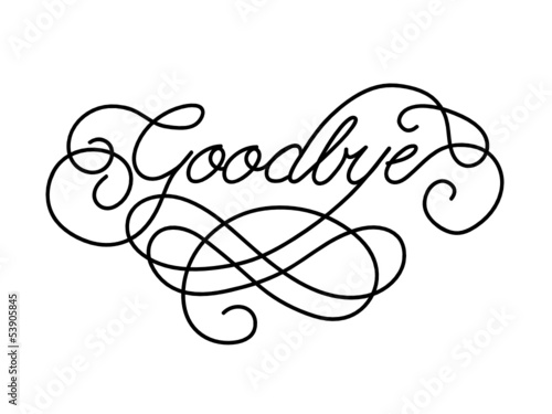 "Goodbye"" Card (Farewell Good Luck Template Retirement Day) 
