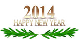 2014 Symbol Happy New Year