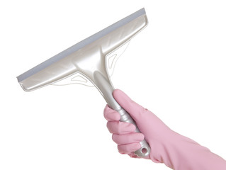 Hand with Squeegee
