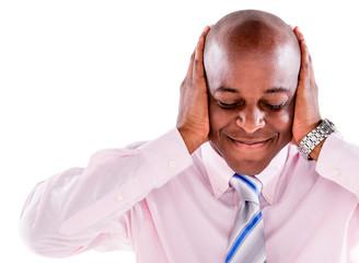 Deaf business man