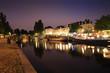 Quai de Versailles de nuit - Nantes