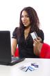 online debt relief or paying online with credti cards