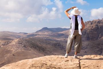 Hiking in Petra