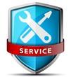 Service shield