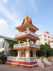 Wat Xieng Nyeun Temple in Vientiane, Laos
