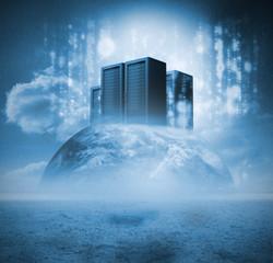 Servers on earth