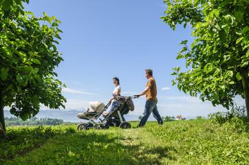 Familienausflug ins Grüne