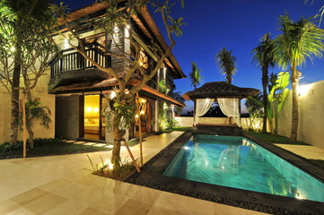 Luxury modern tropical Villa with swimming pool